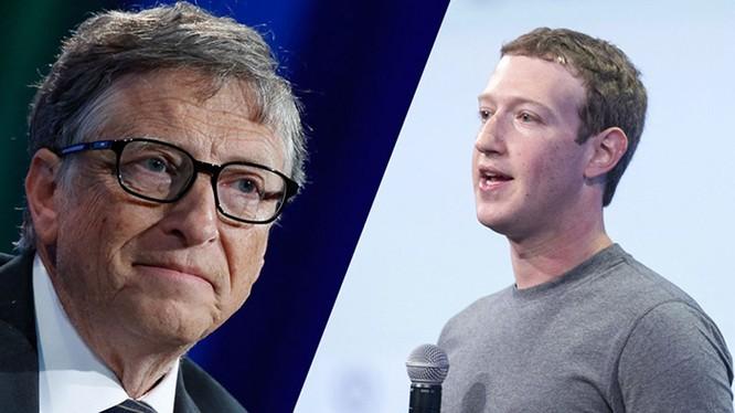 Bill Gates là thần tượng của Zuckerberg khi còn nhỏ.