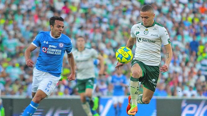Một trận đấu bóng thuộc Liga MX