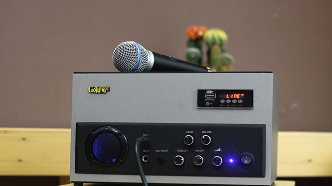 Chiếc ampli mới W200 for Music