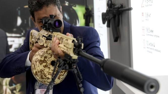 """Súng RPK-16 được giới thiệu tại Diễn đàn kỹ thuật quân sự """"Quân đội 2016"""""""
