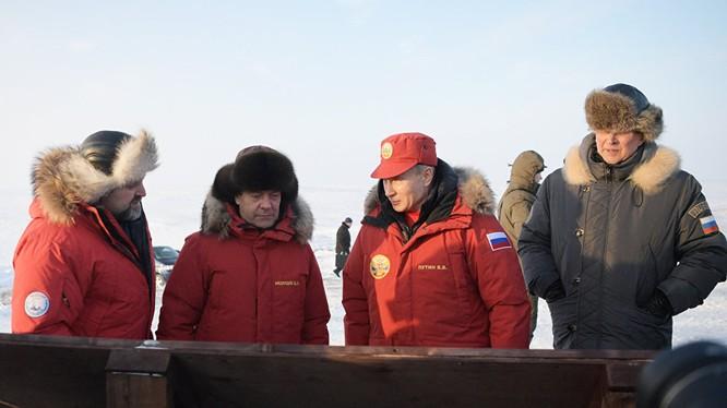 Tổng thống Putin và Thủ tướng Medvedev