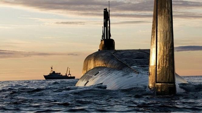 Tàu ngầm nguyên tử chiến lược Nga