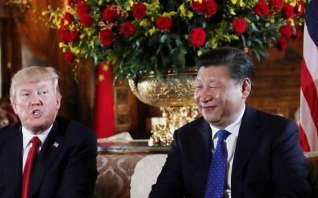 Tổng thống Donald Trump và Chủ tịch Tập Cận Bình tại thượng đỉnh Florida
