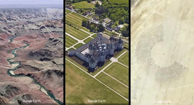 Phiên bản Google Earth mới với rất nhiều tính năng vượt trội