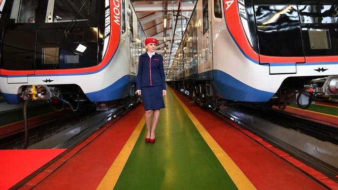 Hệ thống tàu điện ngầm Matxcơva