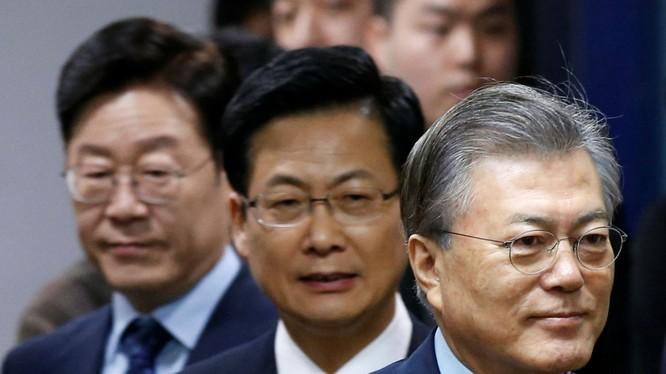 Các ứng viên Tổng thống Hàn Quốc