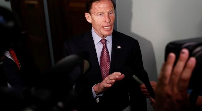 Thượng nghị sỹ bang Connecticut Richard Blumenthal. (Nguồn: AP)