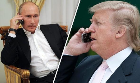 Tổng thống Mỹ D. Trump điện đàm với Tổng thống Nga V. Putin