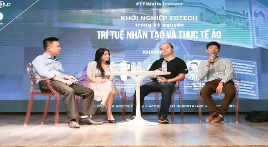 Các diễn giả tại buổi tọa đàm - Ảnh: BTC