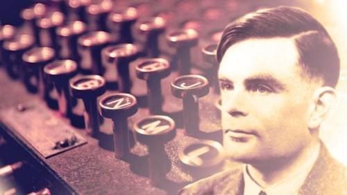 Thiên tài toán học người Anh, ông Alan Turing. Ảnh: Pinterest.