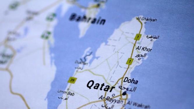 Bản đồ Qatar