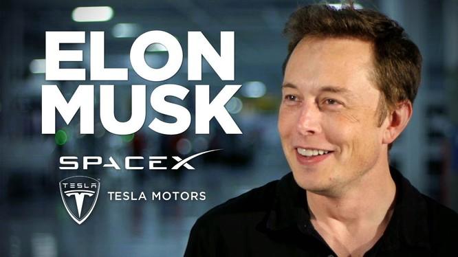 Elon Musk là nhà sáng lập Tesla và SpaceX