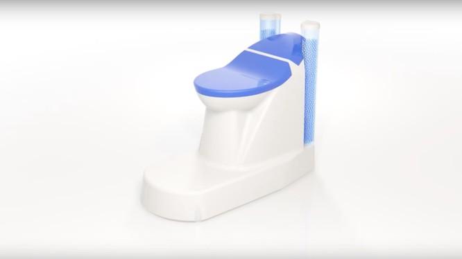 Hình ảnh toilet màng nano