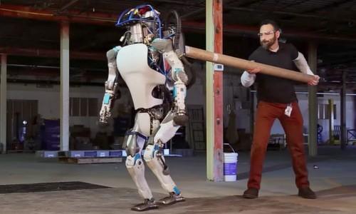 Sản phẩm robot mô phỏng người của Boston Dynamics. Ảnh: Boston Dynamics
