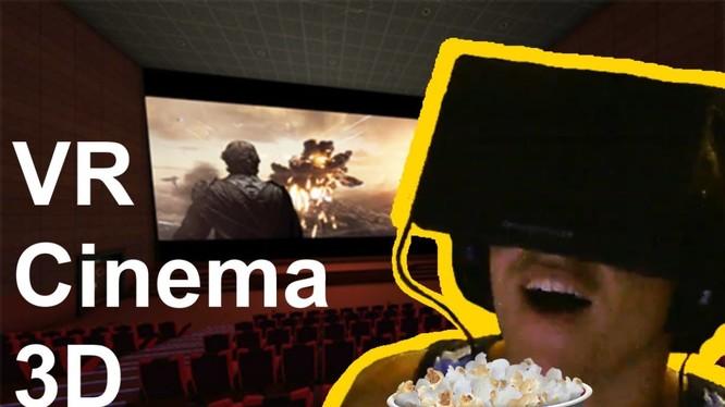 Một rạp chiếu phim thực tế ảo