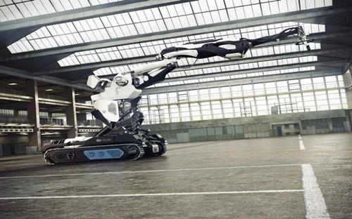 Robot xây nhà bằng công nghệ in 3D của Cazza - Ảnh: Cazza.