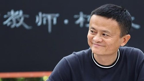 Nhà sáng lập hãng thương mại điện tử Alibaba, tỷ phú Jack Ma