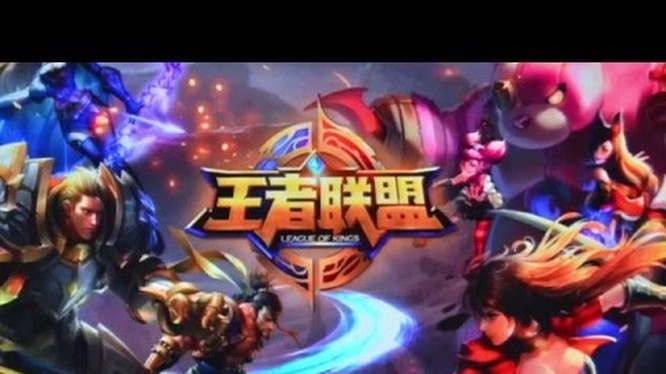 Giao diện của game Honour of Kings