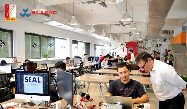 Không gian sáng tạo khởi nghiệp dành cho sinh viên Học viện – BKHUP Co-working Space – Không gian sáng tạo được đánh giá là đẹp nhất Việt Nam