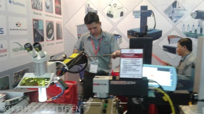Thiết bị laser xử lý vật liệu của Công ty TNHH Kỹ thuật Công nghệ Nam Sơn