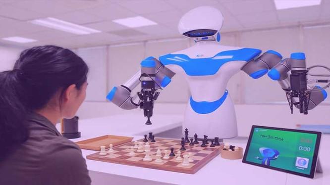 Trí tuệ nhân tạo và robot chiếm vị trí nổi bật trong triển lãm tại Đài Loan