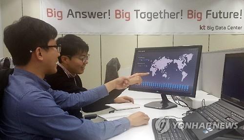 """Khẩu hiệu của Trung tâm Dữ liệu Lớn Hàn Quốc: """"Lời đáp Lớn, Cùng nhau Lớn, Tương lai Lớn""""!"""