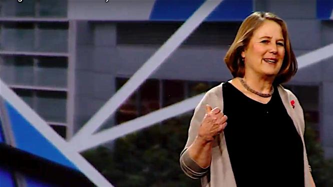 Bà Diane Green, Giám đốc phụ trách bộ phận Google Cloud