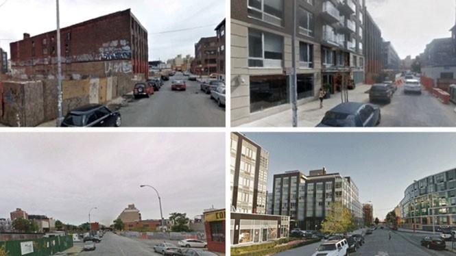 Dữ liệu phân tích dựa vào hình ảnh chụp từ Google Maps trong nhiều năm ẢNH: MIT
