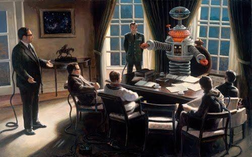 Liệu tới một lúc nào đó, robot sẽ đóng vai trò quyết định cho mọi lĩnh vực của một đất nước?