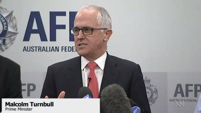 Thủ tướng Australia Malcolm Turnbull công bố dự luật mới
