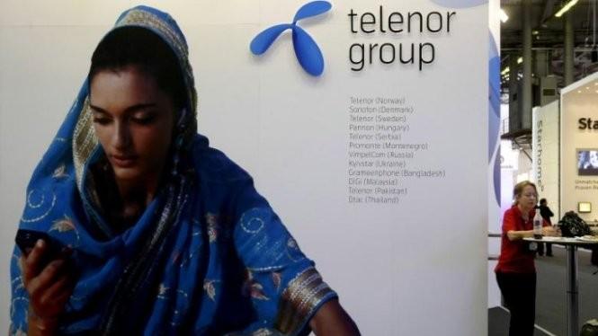 Quảng cáo của Telenor, một trong những nhà cung cấp dịch vụ viễn thông đang hoạt động tại thị trường bùng nổ Myanmar - Ảnh: Reuters