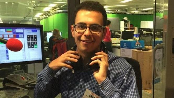 Joshua Browder chỉ mới 19 tuổi và không phải là luật sư nhưng là cha đẻ của luật sư robot đầu tiên trên thế giới - Ảnh: Washington Times