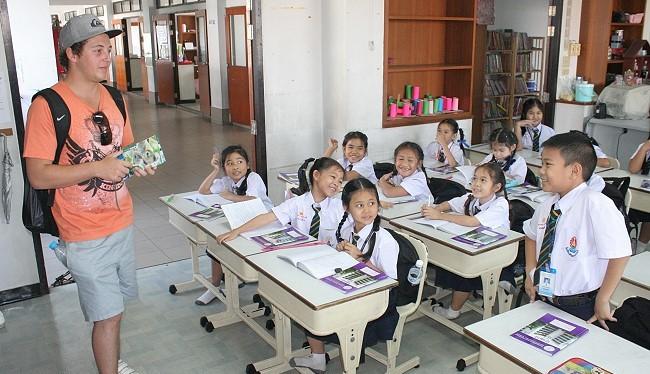 Một lớp học ở Thái Lan (ảnh minh họa)