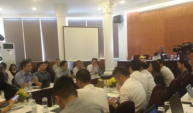 Hội thảo thu hút nhiều ý kiến đóng góp của đại diện các ban, ngành (Ảnh: K.D)