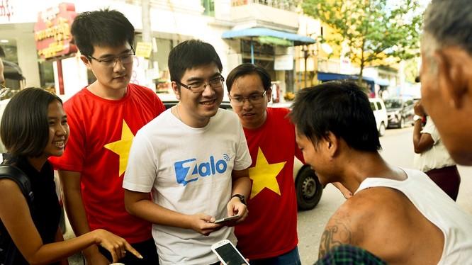 Zalo sang thị trường Myanmar