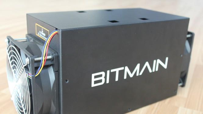 Máy xử lý dữ liệu tự động của nhà sản xuất Bitmain