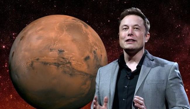 Elon Musk còn có tham vọng chinh phục sao Hỏa