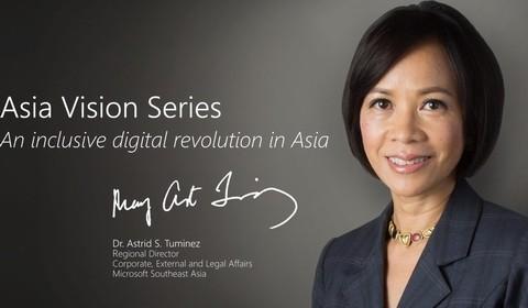 Tiến sĩ Astrid S.Tuminez - Giám đốc khối Pháp chế, Microsoft Đông Nam Á