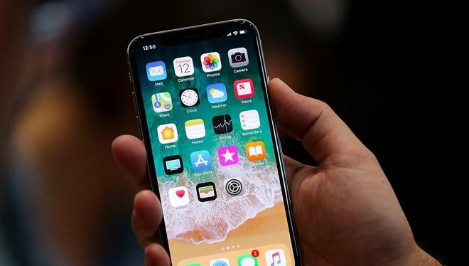 Mẫu iPhone X. (Nguồn: Getty Images)