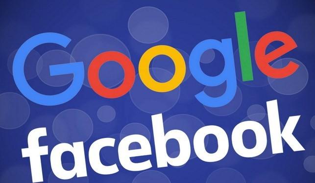 Google và Facebook thống trị ở Mỹ.