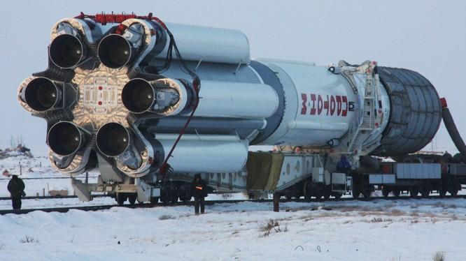 Tên lửa Proton-M của Nga. Ảnh: Sputnik