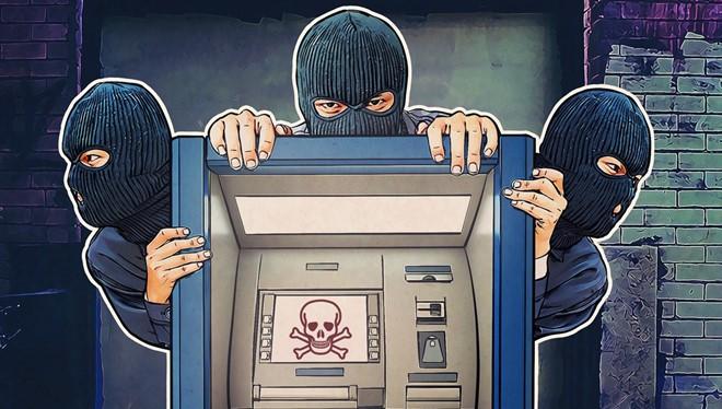 Các máy ATM luôn là mục tiêu của tin tặc. Ảnh: DailyDot.