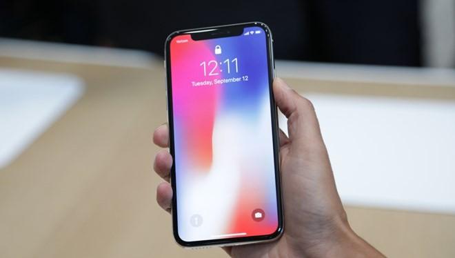 Điện thoại iPhone X. (Nguồn: techcrunch.com)