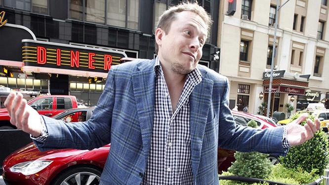 Một hình ảnh lạ của Elon Musk