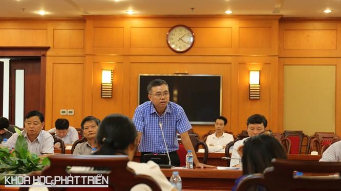 Ông Đào Mạnh Thắng chia sẻ về tiến độ thực hiện đề án Phát triển hệ tri thức Việt số hóa