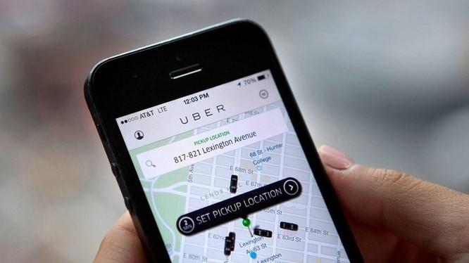 Giao diện Uber