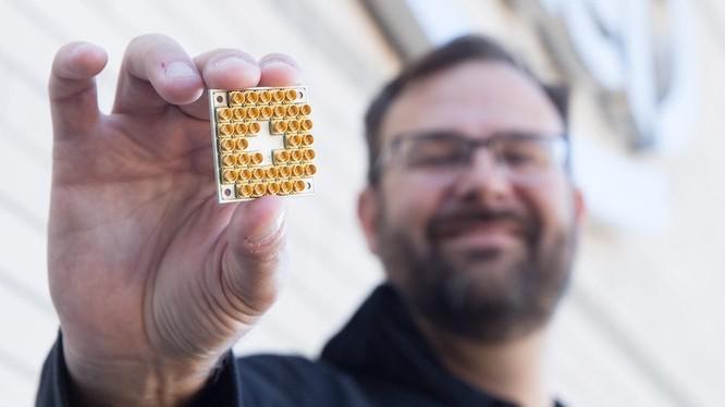 Siêu chip 17-bit lượng tử