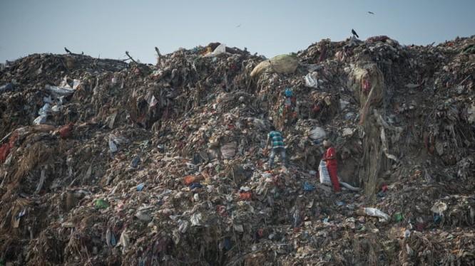 Rác thải là vấn nạn lớn đối với tương lai loài người
