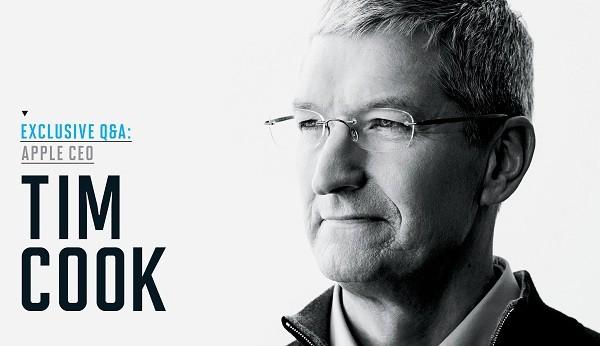 Tim Cook - CEO đương nhiệm của Apple.