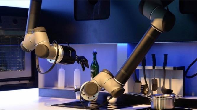 Robot nhà bếp Moley